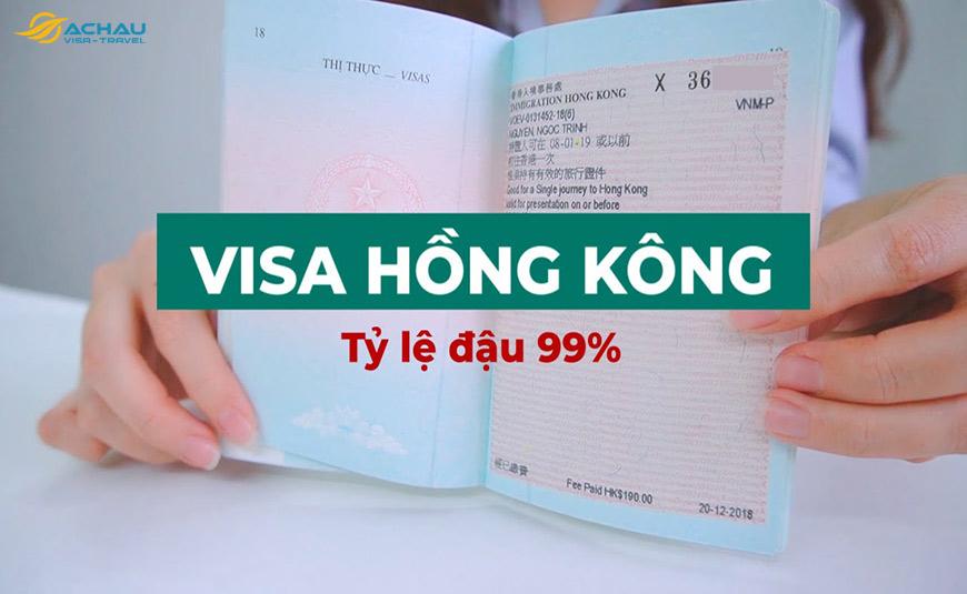 Dịch vụ xin Visa Hong Kong trọn gói 2