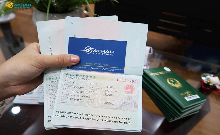 Dịch vụ xin Visa Trung Quốc trọn gói, nhanh chóng, uy tín 2