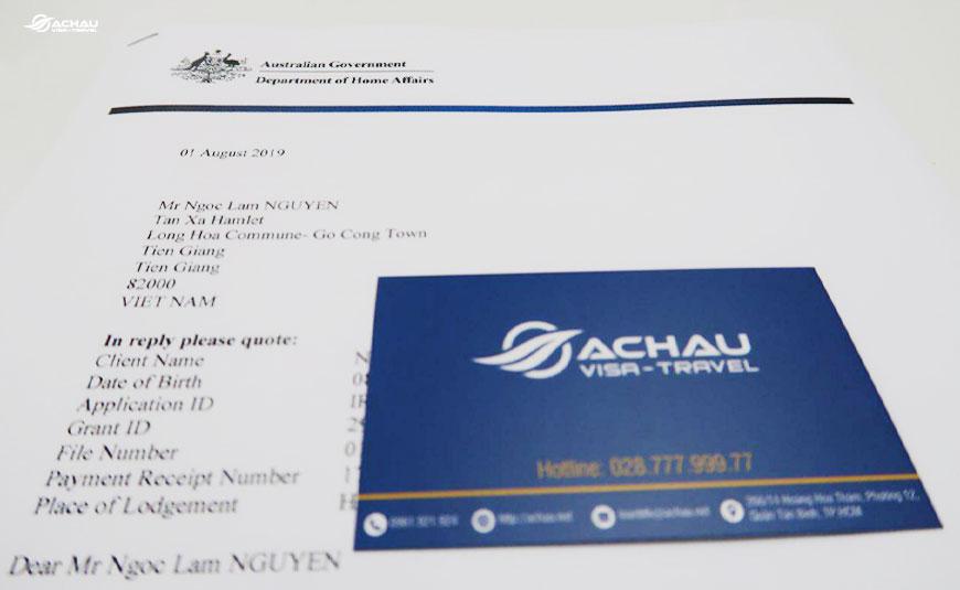 Dịch vụ xin visa Úc diện thăm thân