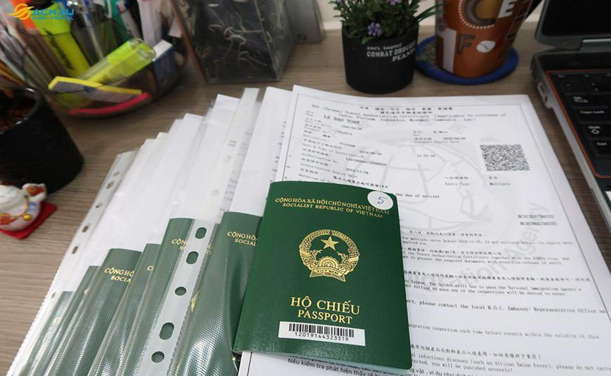 Dịch vụ xin Visa Đài Loan cho trẻ em đạt tỉ lệ đậu 99% 1