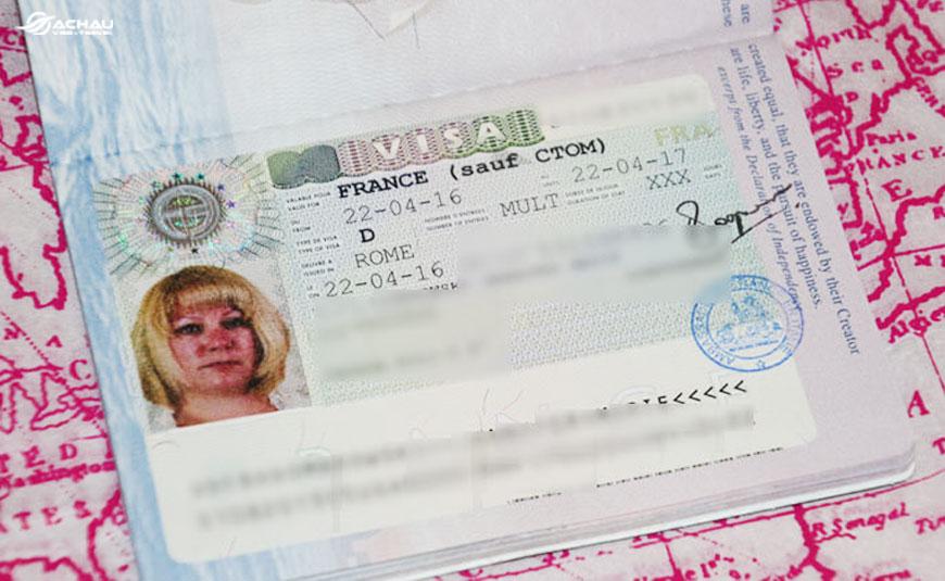 Điều kiện để xin visa Pháp xuất nhập cảnh nhiều lần là gì? 1