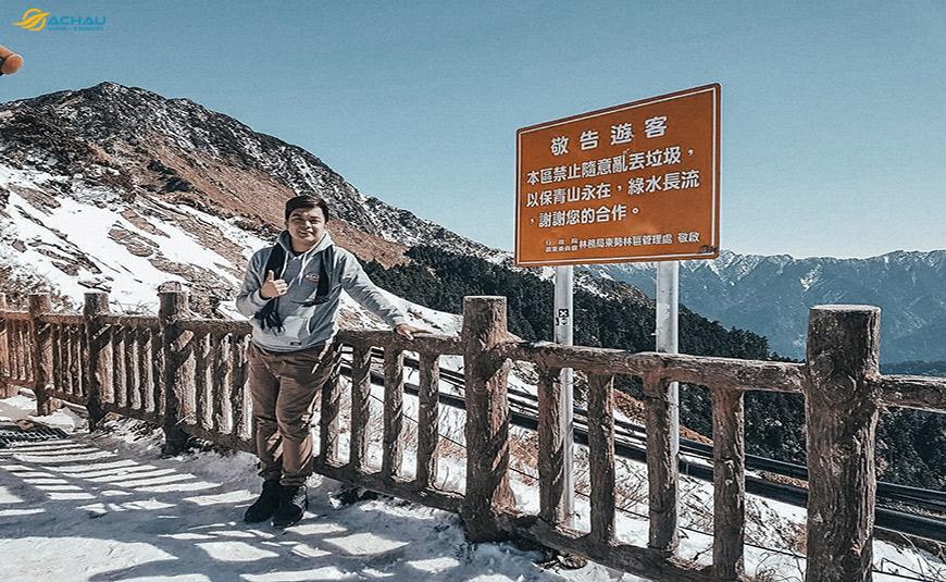 Có được ngắm tuyết khi du lịch Đài Loan vào mùa Đông không? 1