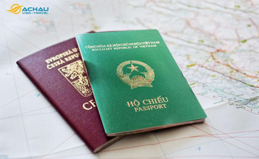 hồ sơ xin visa Schengen