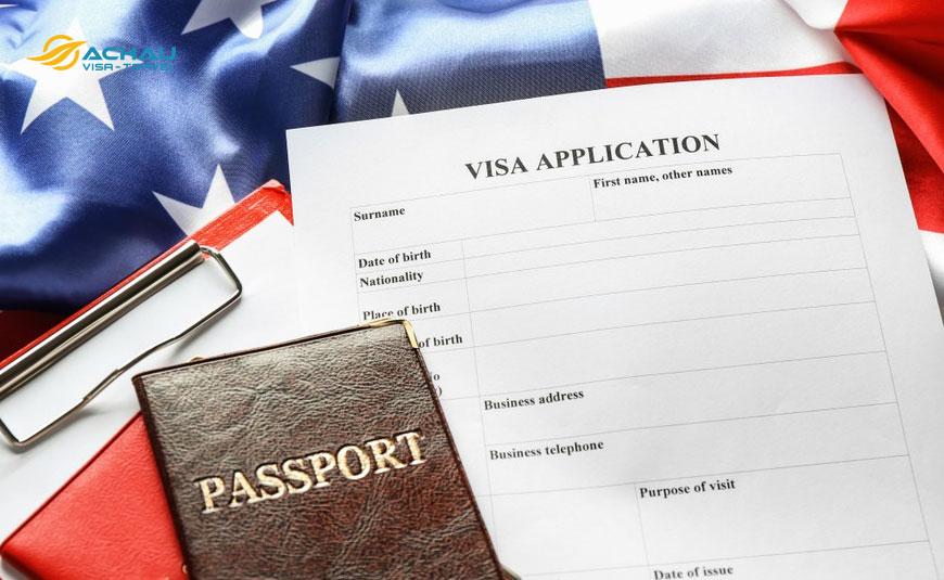 Ảnh hưởng của hồ sơ khi xin visa Mỹ
