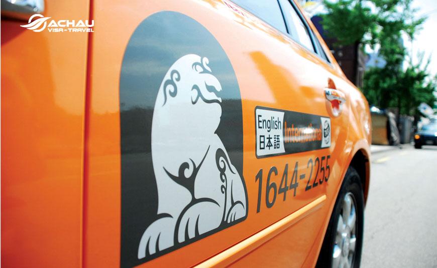 Kinh nghiệm đi Taxi trong chuyến du lịch Hàn Quốc