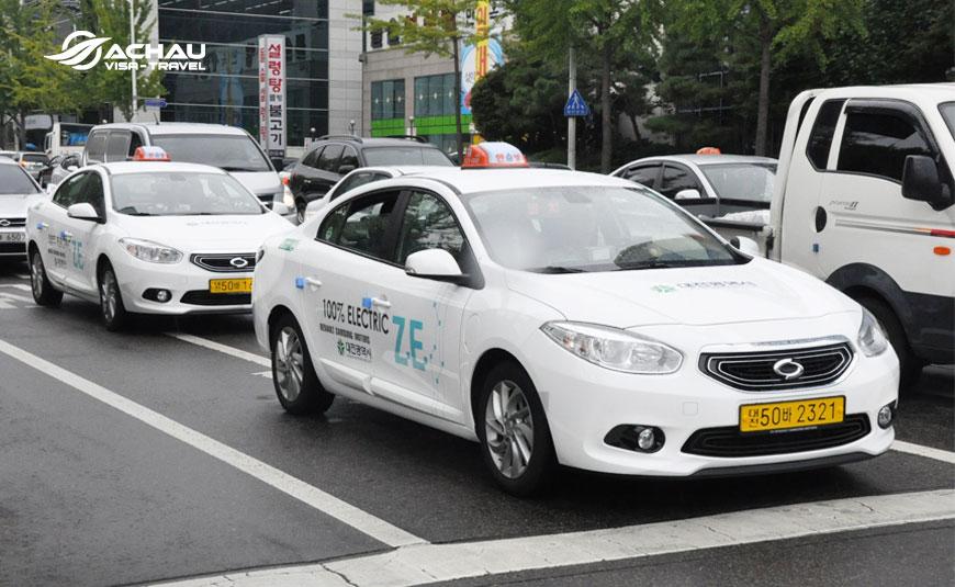 Kinh nghiệm đi Taxi trong chuyến du lịch Hàn Quốc 1