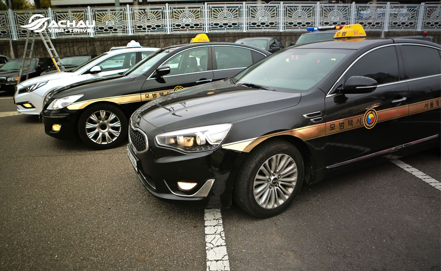 Kinh nghiệm đi Taxi trong chuyến du lịch Hàn Quốc 2