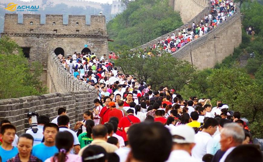Chia sẻ kinh nghiệm tham quan Vạn Lý Trường Thành - Trung Quốc 2