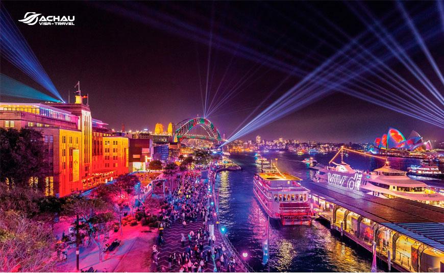 Lễ hội Ánh Sáng ở Úc ấn tượng nhất thế giới vào tháng 5 4