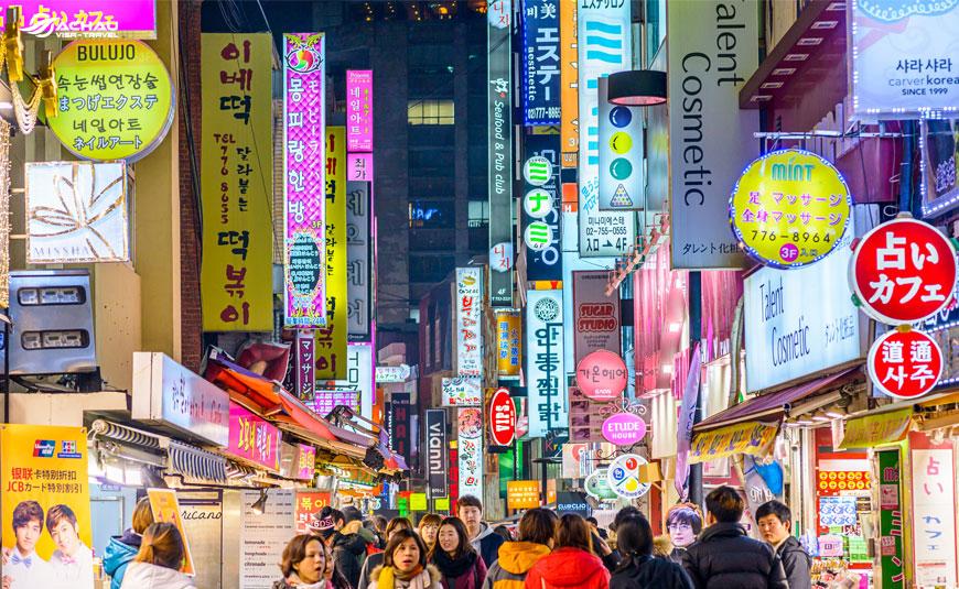 Nên đi chợ Dongdaemun hay chợ Myeongdong khi du lịch Hàn Quốc?