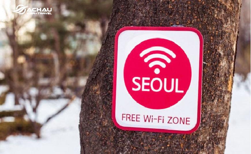 những dịch vụ miễn phí khi du lịch Seoul - Hàn Quốc