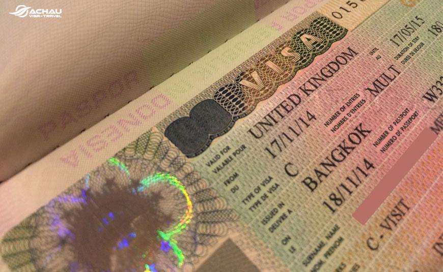 Những lưu ý quan trọng khi xin visa Anh Quốc 1