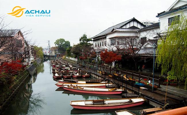 """Khám phá """"thành phố Venice"""" thu nhỏ giữa lòng Nhật Bản"""