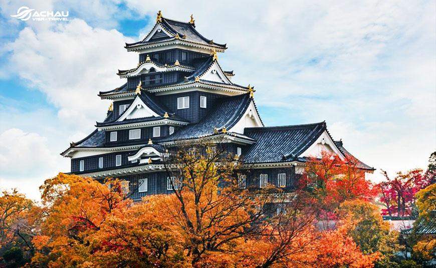 Điểm danh 10 tòa lâu đài cổ nổi tiếng của Nhật Bản 9