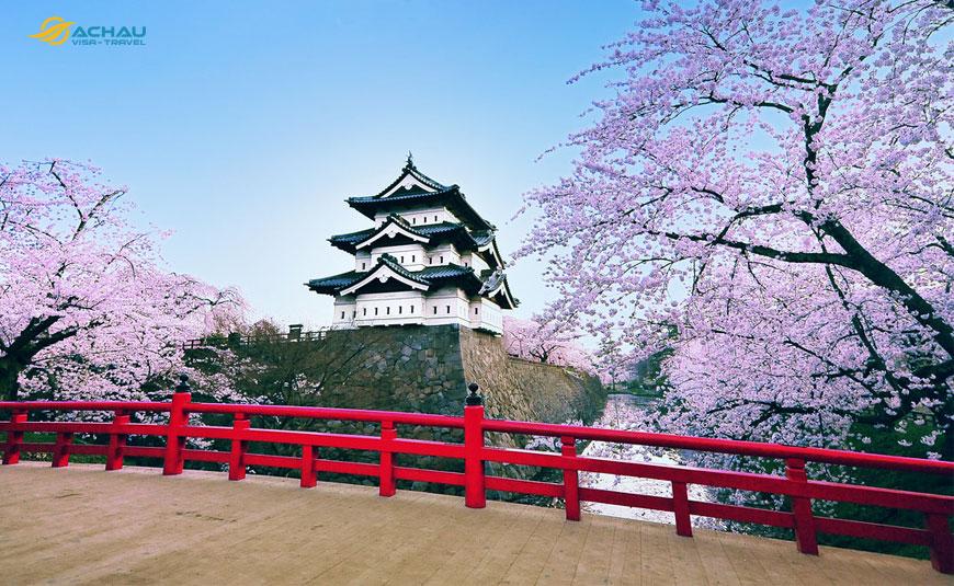 Điểm danh 10 tòa lâu đài cổ nổi tiếng của Nhật Bản 5
