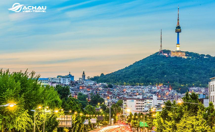 tour du lịch Hàn Quốc  3