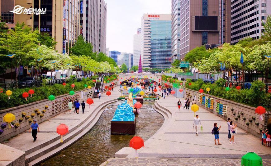 Khám phá mùa hè xứ kim chi với tour du lịch Seoul - Everland - Nami 6