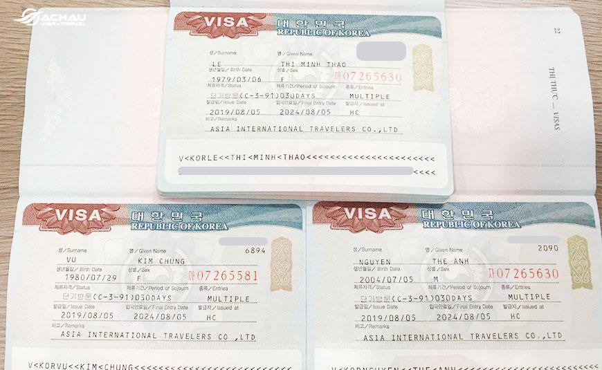 Những khó khăn mà đương đơn phải trải qua khi tự xin visa du lịch Hàn Quốc  1