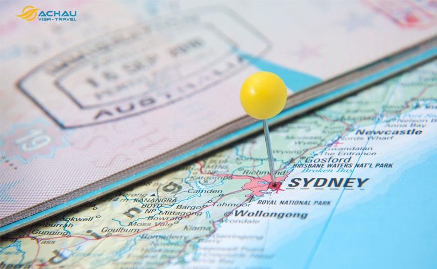 xin visa công tác Úc