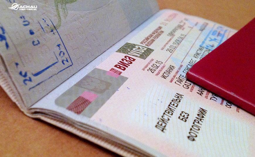 Những lưu ý khi xin visa Nga diện thương mại -  công tác 2