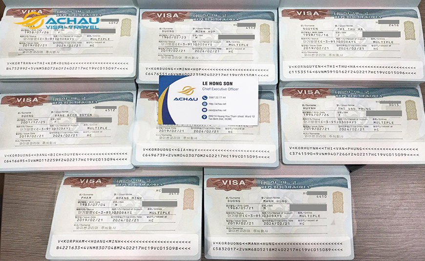 thời hạn xét duyệt hồ sơ xin visa của Lãnh sự quán