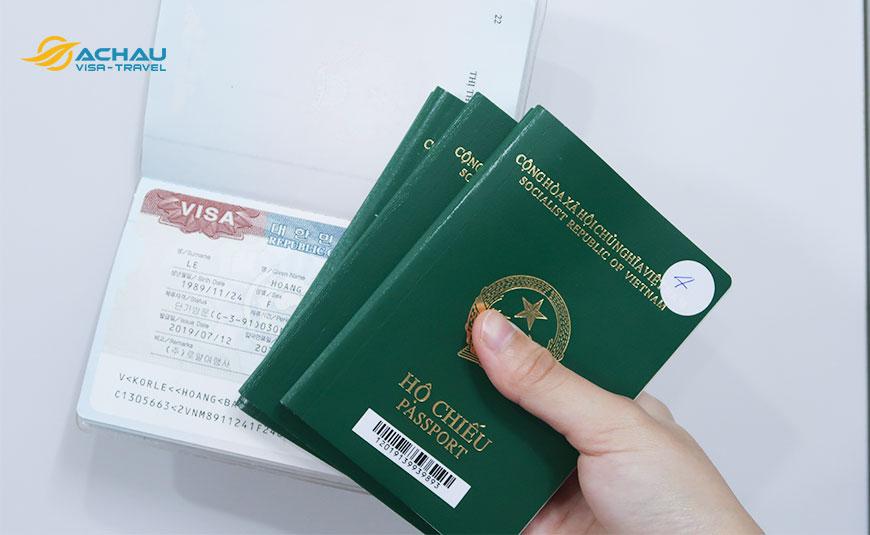 Hồ sơ xin visa du lịch Hàn Quốc