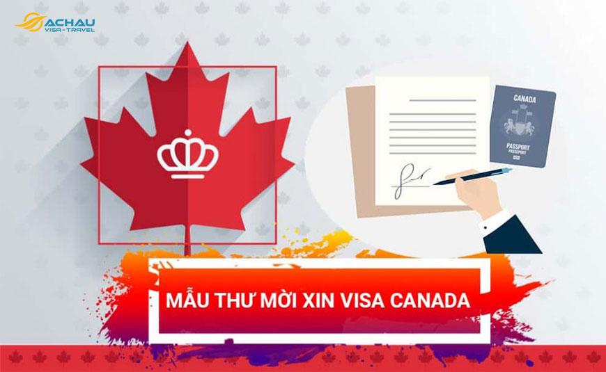 Hướng dẫn cách viết thư mời để xin visa Canada thăm thân 1