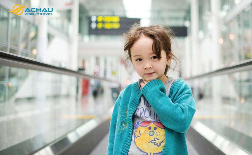 xin visa Hàn Quốc cho trẻ nhỏ