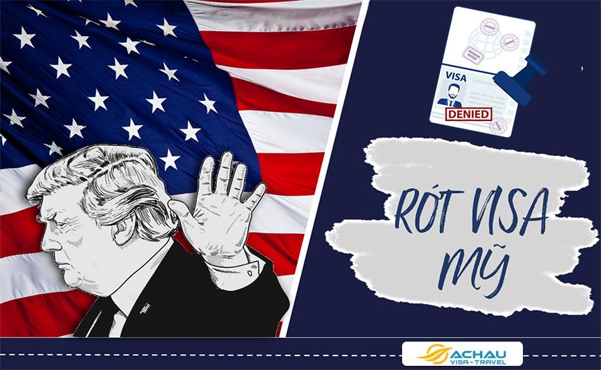 Làm sao để giảm tỉ lệ xin Visa Mỹ bị rớt?