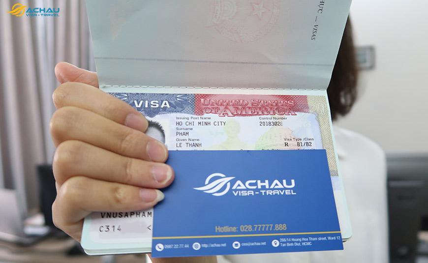 Xin visa Mỹ tự túc